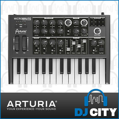 Arturia MicroBrute Analog Synthesiser Synth Analogue Micro Brute