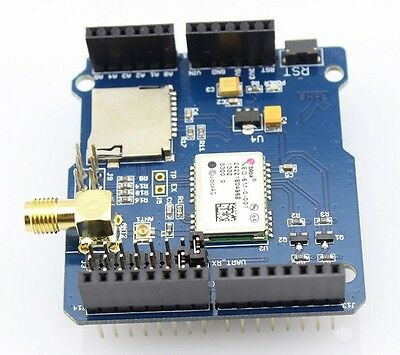 U-Blox Neo 6M GPS Shield for Arduino with MicroSD card Interface