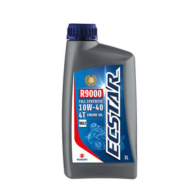Suzuki ECSTAR R9000 Fully Synthetic Engine Oil - 10W40 - 1 Litre Road Offroad 99