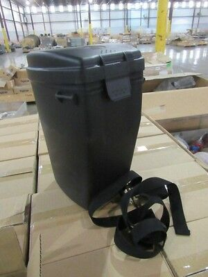 "MSA Respirator Carrying Case Hard Polyethylene 12"" x 8"" x 7"""