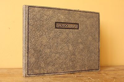 Original Vintage Antique   Photo Album, Empty. Early 1900's.