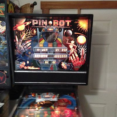 Vintage Williams PIN·BOT Pinball Machine in Working Condition!