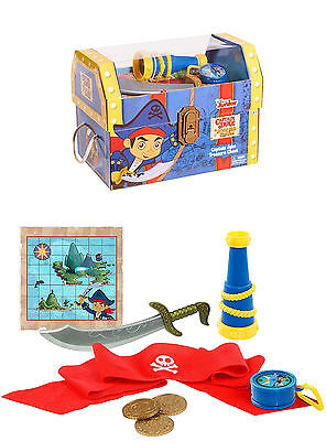 New Licensed Disney Jake & The Neverland Pirates Captain Jake's Treasure Chest