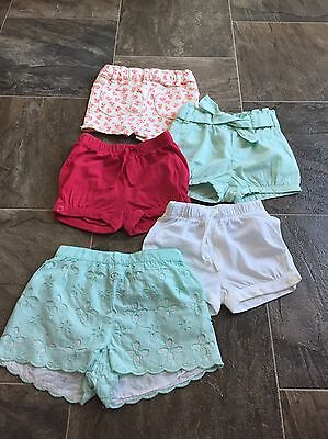 Baby Gap Lot of Shorts Size 12-18 Months EUC