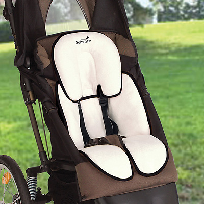 Summer Infant Snuzzler Support For Car Seats And Strollers Reversible Fabric New