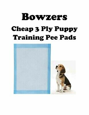 "17x24"" 300-1200 Economy Lightweight Economical Puppy Dog Piddle Pads/Underpads"