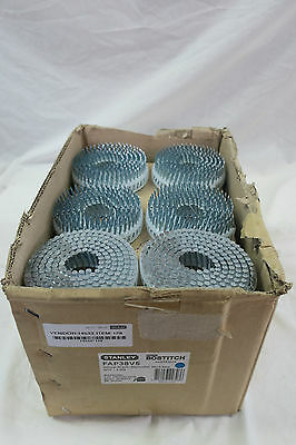 Box Containing 6,000 Stanley Bostitch Coil Nails