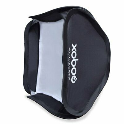 Godox 40x40cm Softbox Bag Kit for Studio Flash Speedlite fit Bowens Elinchrom