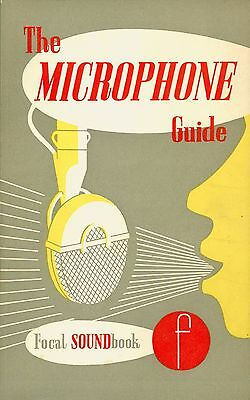 The Microphone Guide - John Borwick (1961) Vintage Microphone Book