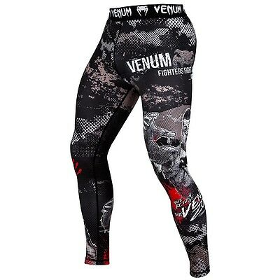 Venum Compression Leggings ZOMBIE RETURN, Lauf Fitness Hose Pant BJJ MMA Hose
