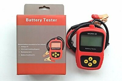 MICRO-30 2-30Ah12V Motorcycle Battery Tester Motorcycle Analyzer Diagnostic Tool