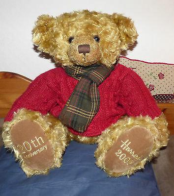 Harrods 2005 Limited Edition Bear 20th Anniversary Bear Excellent Condition