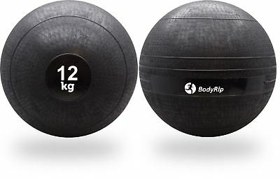 BodyRip 12KG SLAM BALL NO BOUNCE WEIGHT CROSSFIT WORKOUT MMA BOXING FITNESS GYM