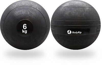 BodyRip 6KG SLAM BALL NO BOUNCE WEIGHT CROSSFIT WORKOUT MMA BOXING FITNESS GYM