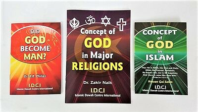 The Concept of God in Islam and other Religions -  3 Booklet set- IDCI
