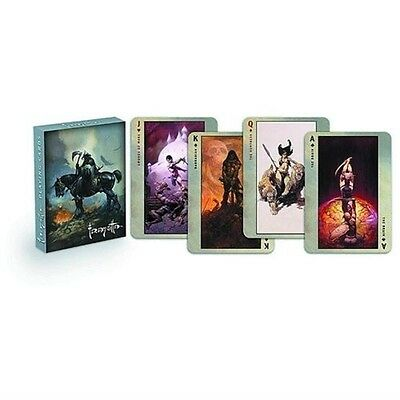FRANK FRAZETTA Death Dealer Spielkarten Kartenspiel Playingcards Jeu de Cartes