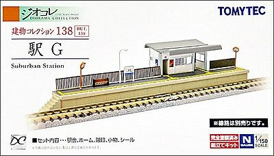 NIB Tomytec Building 138 Detailed Suburban Station Unassembled Structure Kit
