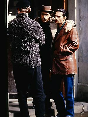 "AL PACINO & JOHNNY DEPP in ""Donnie Brasco"" - Original 35mm COLOR Slide - 1997"