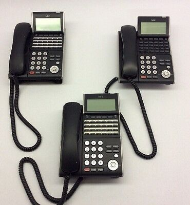 Nec Lot Of 3  Nec DT300 PTL-24D-1 Telephone