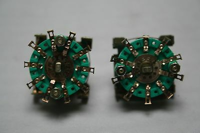 10 POSITIONS ROTARY SWITCH WAFER NSF PAT 1201082 ref 280A