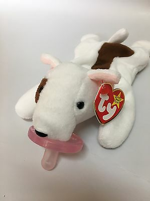 """Butch"" Dootsies Pacifier Lovie TY Beanie Baby (wubbanub)"