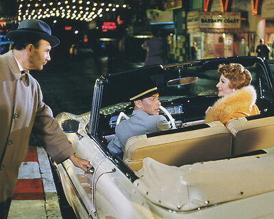 Pal Joey Frank Sinatra Rita Hayworth sitting in 1950's convertable 8x10 Photo