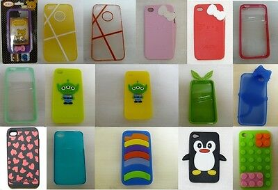 Bulk Wholesale Joblot Mix Mobile iPhone 4, 4S Cases Covers Pack of 100 Assorted