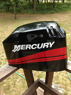 Cowlings housings outboard engines components boat for Mercury outboard motor cowling