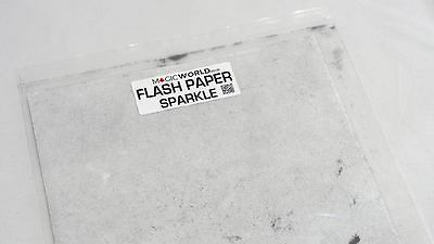 Sparkle Flash Paper 4 Large Sheets