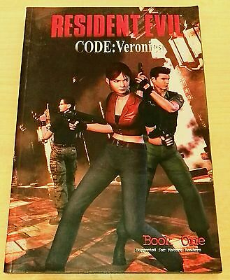 Resident Evil Code Veronica: Book One Graphic Novel Paperback