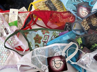 Lot Of 13  Women's Lingerie G-String Thong Underwear - Sizes S To Xl