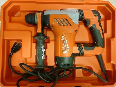 "Milwaukee 5268-21 Sds Plus Rotary Hammer 1-1/8"" W/ Case"