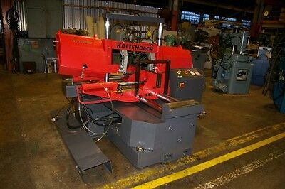 "12"" X 12"" Kaltenbach Hb320Nc Twin Post Automatic Horizontal Band Saw, 17585"