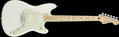 Fender Duo-Sonic Maple Fingerboard Electric Guitar Arctic White - 0144012580
