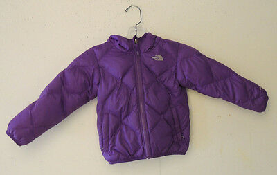 The North Face 550 Double Face Down Padded Hooded Jacket Baby Girls