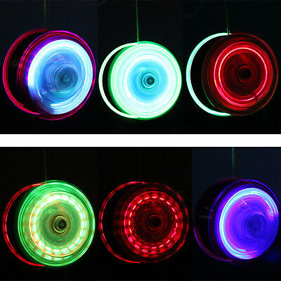 Light Up YoYo Ball for Magic Juggling Toy Fancy Moves Flashing LED Random GT