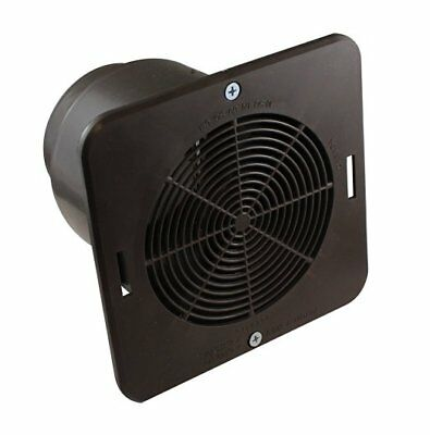 Soffit Exhaust Vent Brown, Single, PartNo 6486-1642, by Canplas Inc