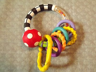 Boppy Colorful Rattle Used