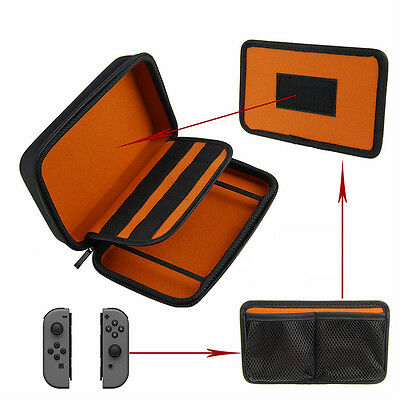 Professional Hard Travel Carrying Case Suitable For Nintendo Switch Console AU