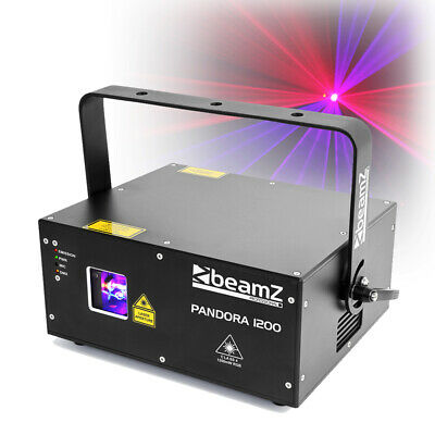 Professional DJ Club Laser Light DMX FULL COLOUR 1W Output Pandora 1000 TTL