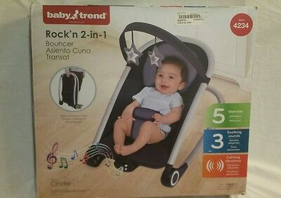Baby Trend Rock'n 2 in 1 Bouncer 4234 Rocking Seat
