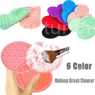 Silicone Makeup Brush Cleaner Clover Shaped Deep Cleaning Pad Cosmetic Brush Pad
