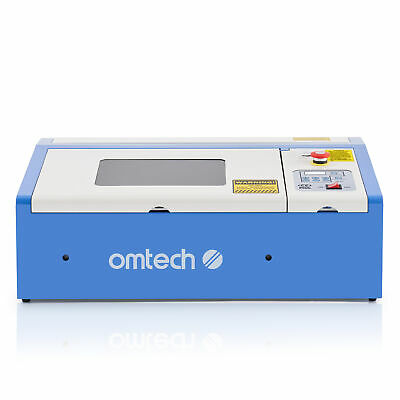 Water-Break Protection 40W CO2 Laser Engraver Crafts Cutter w/ Panel Control