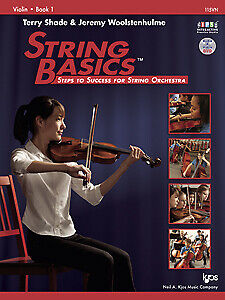 String Basics Violin Book 1 - 115VN BY TERRY SHADE & JEREMY WOOLSTENHULME KJOS