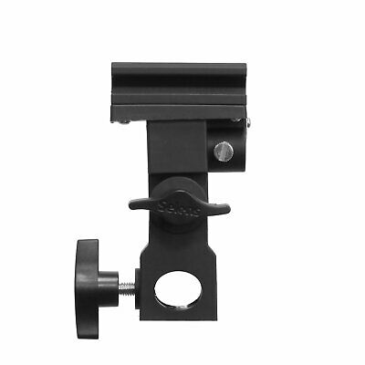 Flash Bracket B Adapter Hot Shoe Swivel Light Stand Mount Umbrella Holder pro