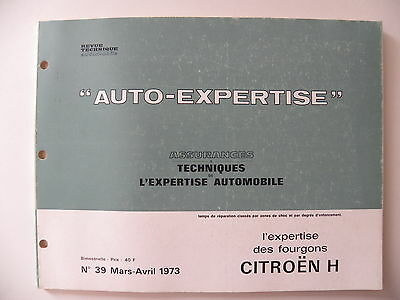 revue automobile AUTO-EXPERTISE fourgons CITROEN H