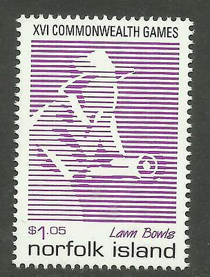 NORFOLK IS 1998 COMMONWEALTH GAMES Lawn Bowls 1v MNH