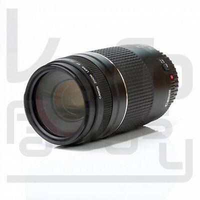 UK Canon EF 75-300mm f/4-5.6 III Zoom Lens F4-5.6 Mark 3 for EOS DSLR