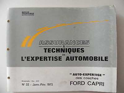 revue automobile AUTO-EXPERTISE FORD CAPRI