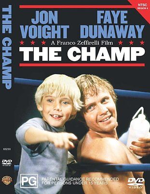 THE CHAMP (1979 Jon Voight) english cover  - DVD - UK Compatible - sealed